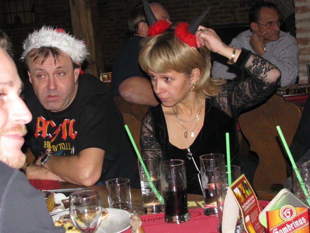 Mikulášská zábava 2010