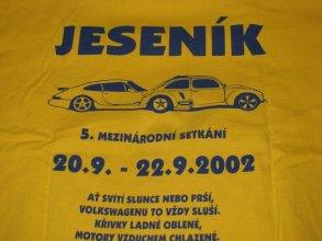 Sraz Jeseník 2002 – Zlaté hory, areál Bohéma