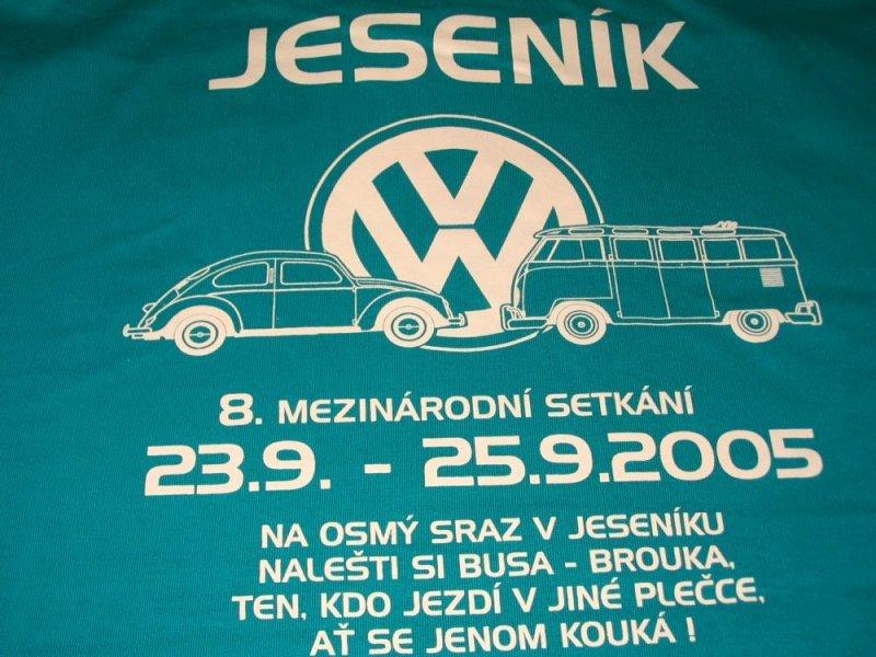 Sraz Jeseník 2005